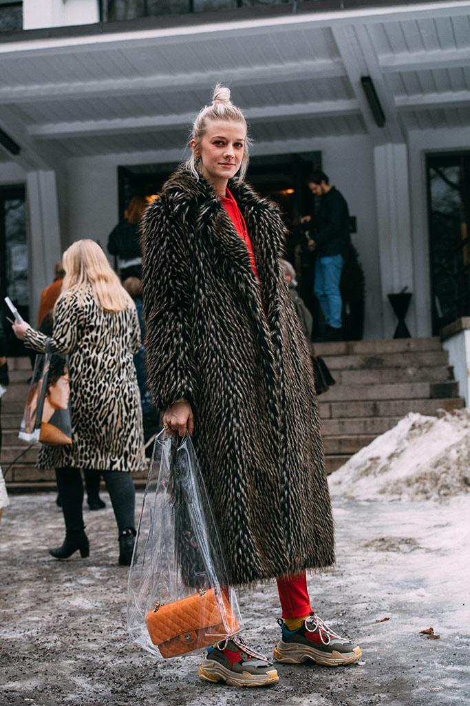 oslo fashion week, street style, fall 2018