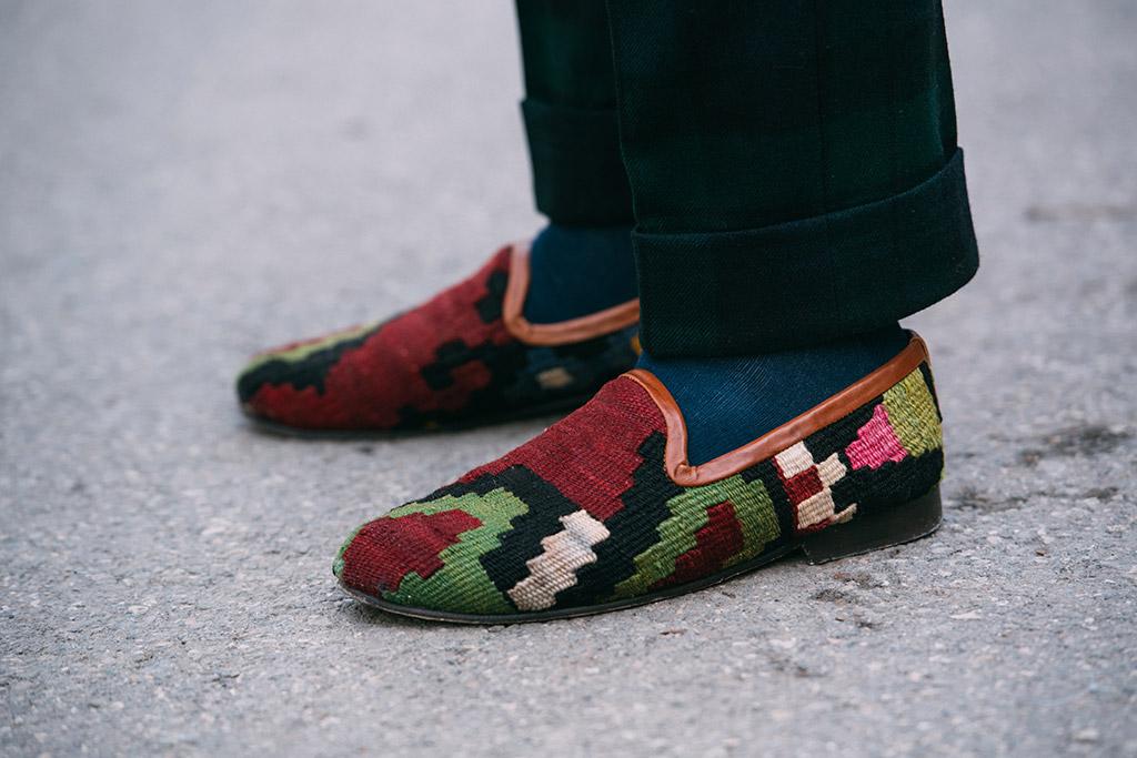 Pitti Uomo fall 2018, men's street style