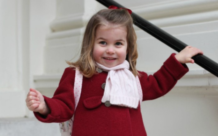 princess charlotte, first day of school