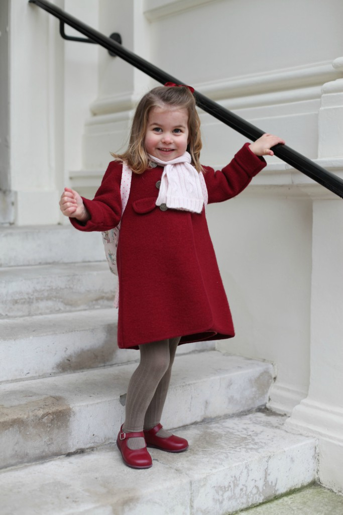 prince charlotte, first of school