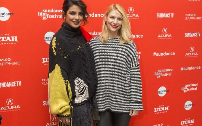 Priyanka Chopra and Claire Danes