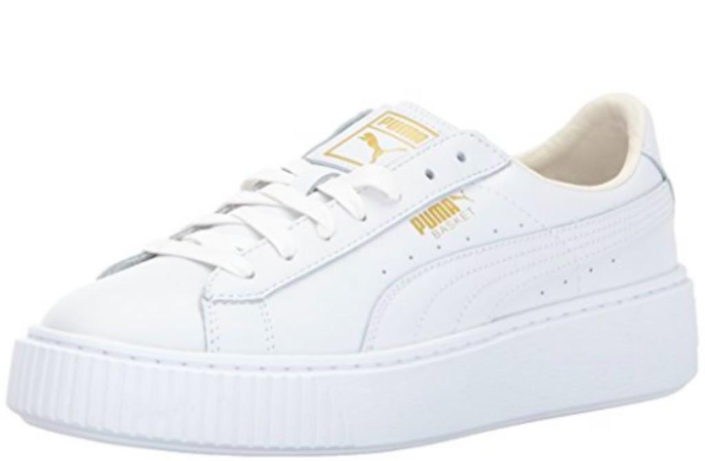 puma basket platform sneaker