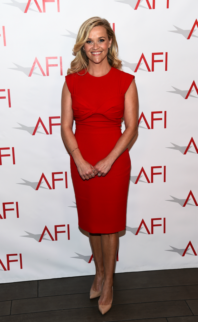 reese witherspoon, christian louboutin, afi awards luncheon