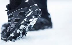 Shoe in Snow