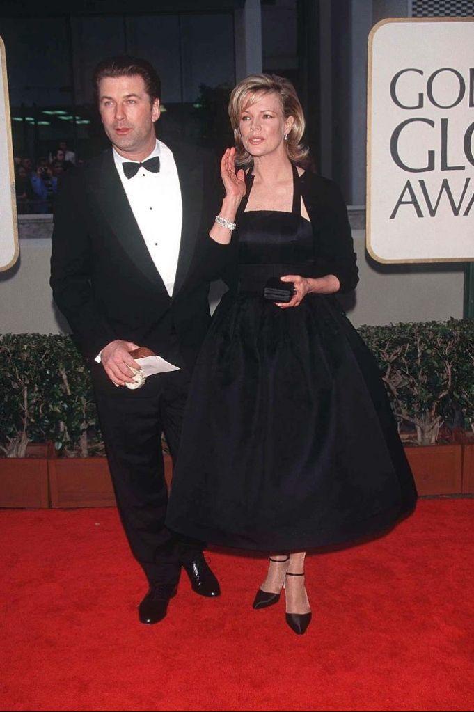 Golden Globes 1998 Alec Baldwin Kim Basinger