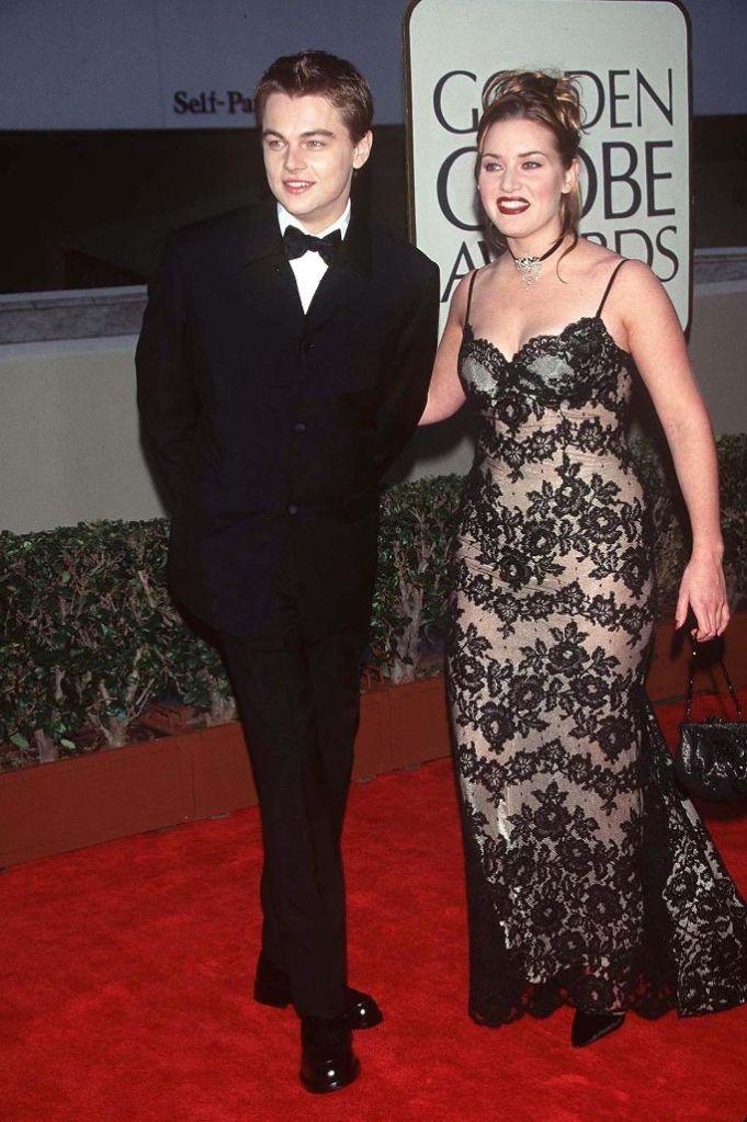 Golden Globes 1998 Leonardo DiCaprio Kate Winslet