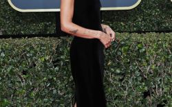 Sandals on the 2018 Golden Globes Red Carpet