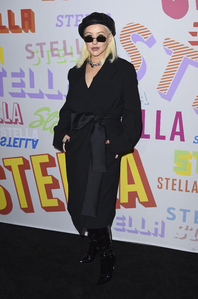 Christina Aguilera, stella mccartney