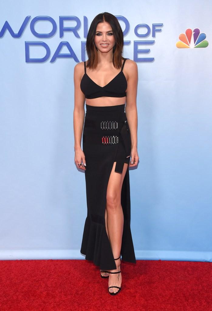 Jenna Dewan Tatum attends the 'World of Dance' TV show premiere.