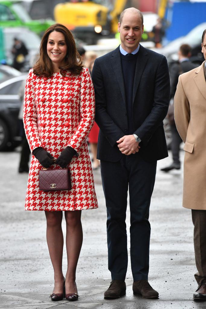 kate middleton, prince william, royal visit to sweden