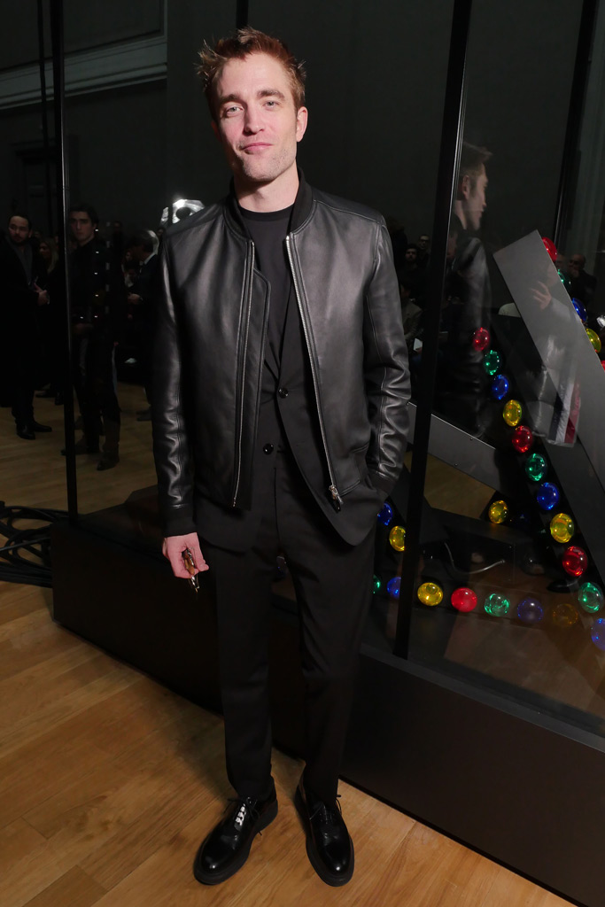 Rob Pattinson paris men's fashion week f/w '18