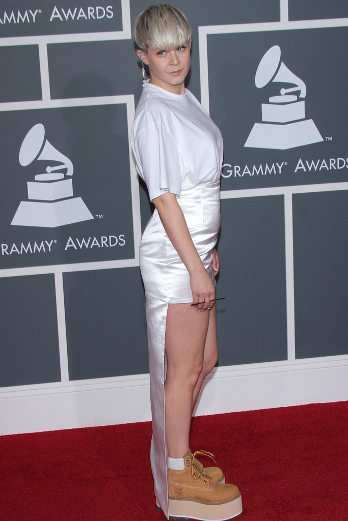 Robyn, Timberland boots, Grammy Awards