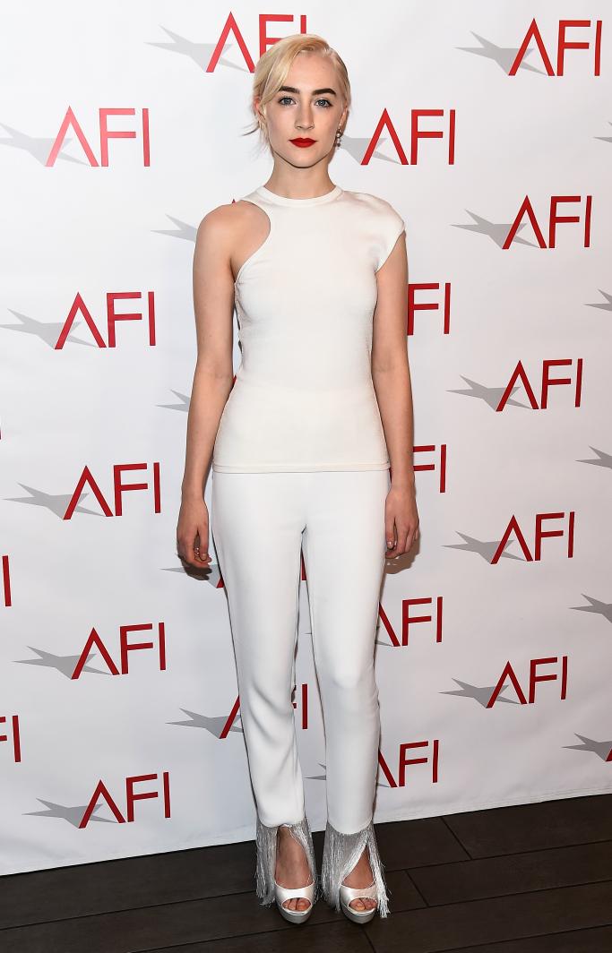Saoirse Ronan, afi awards luncheon