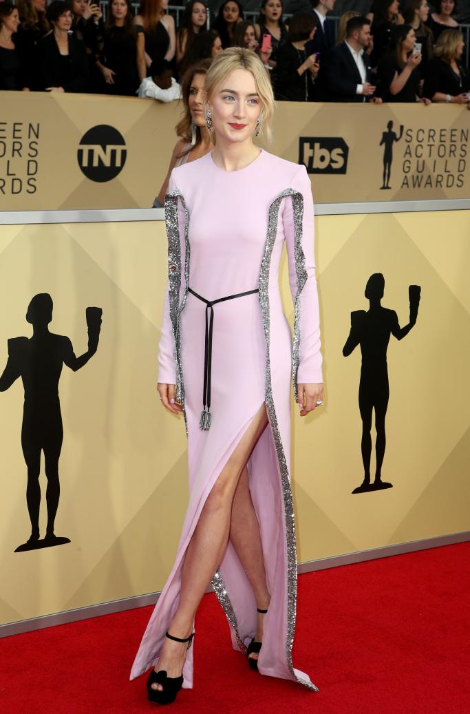 Saoirse Ronan, sag awards red carpet