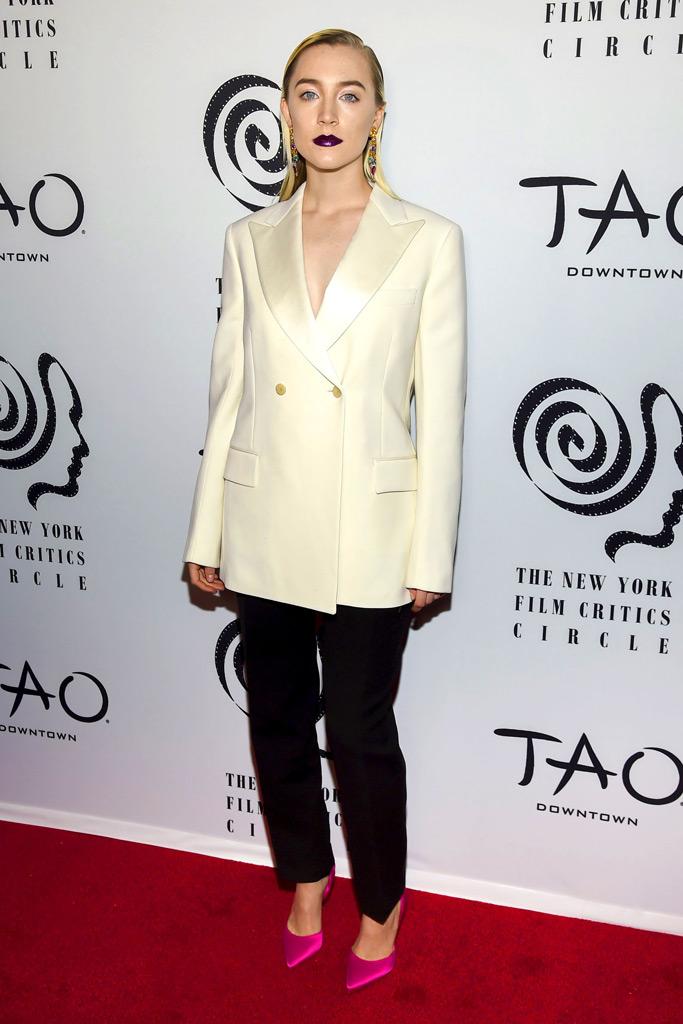 Saoirse Ronan, New York Film Critics' Choice Awards.