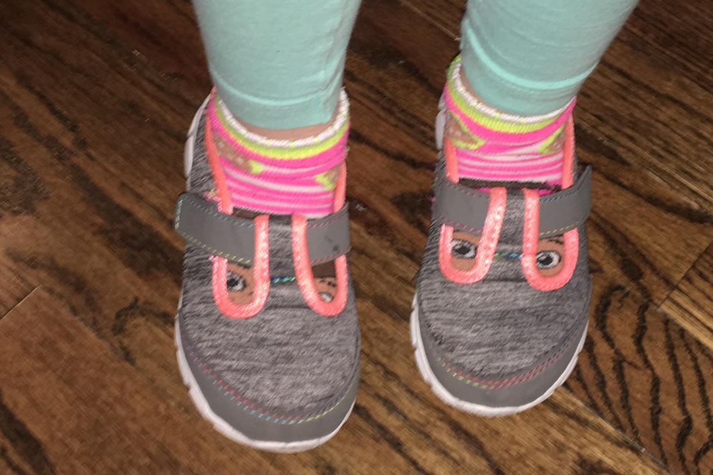 Shoes With Sock Eyes