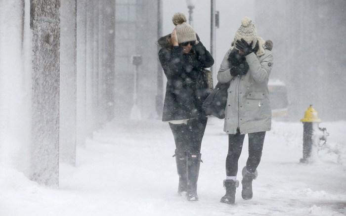 Winter Snow Storm