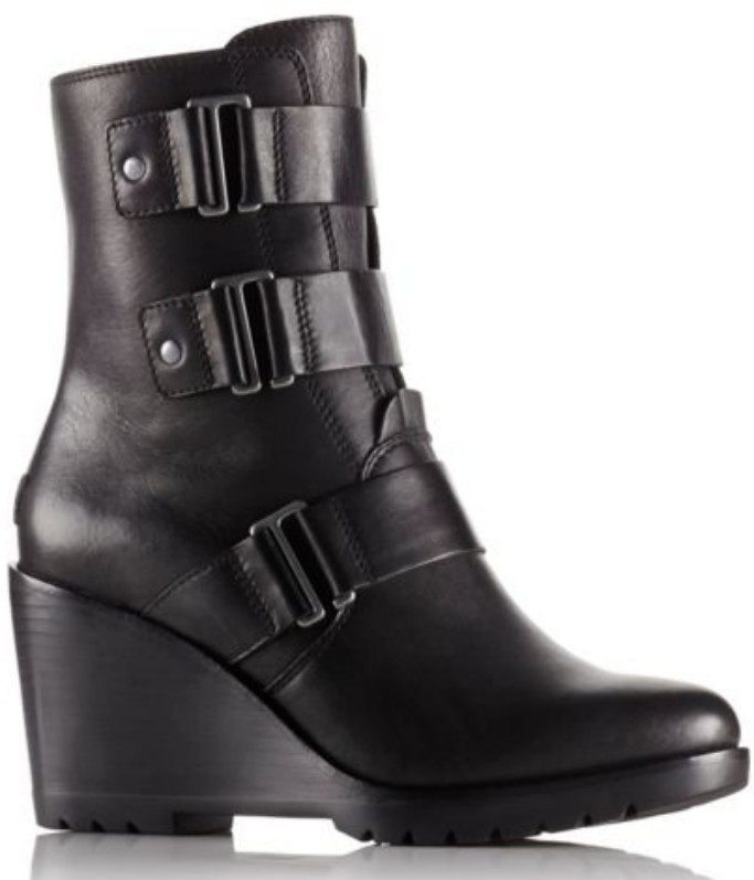 sorel After Hours Leather Bootie