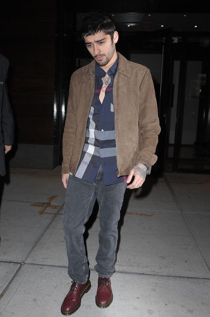 zayn malik wearing doc martens