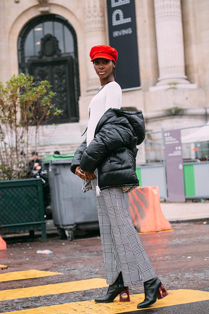 street style, paris haute couture spring 2018, marni