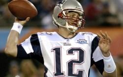 Tom Brady New England Patriots Super