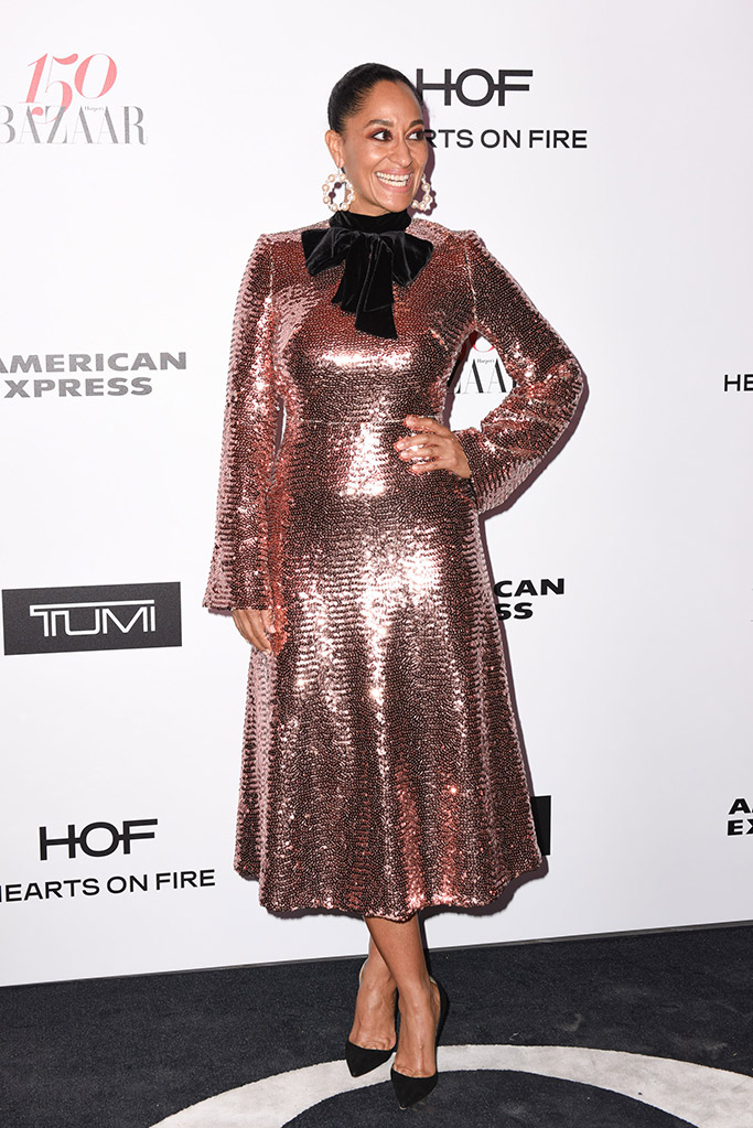 tracee ellis ross, christian louboutin, red carpet style