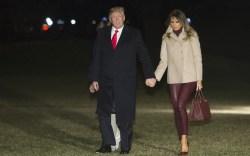 Melania Trump's Mar-a-Lago Plane Outfits