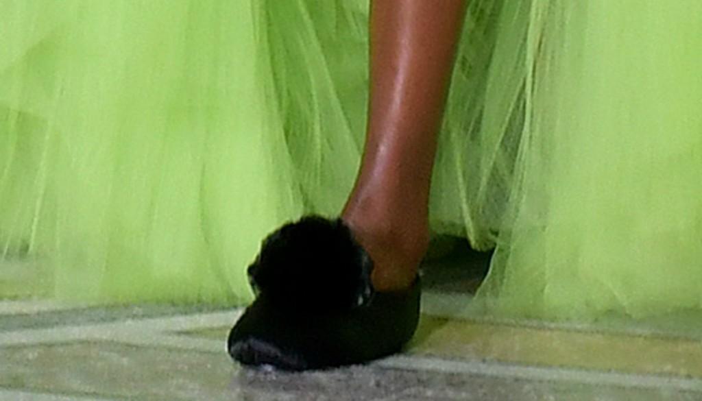 Giambattista Valli slippers, haute couture fashion week
