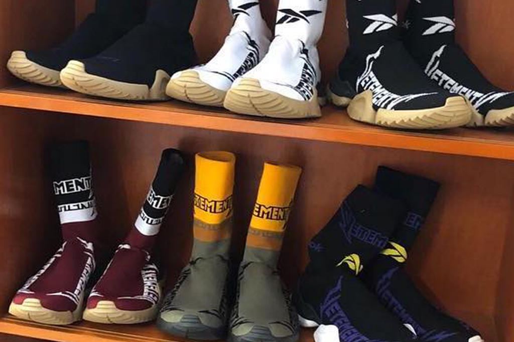 Vetements Takes Sock Shoe Trend to