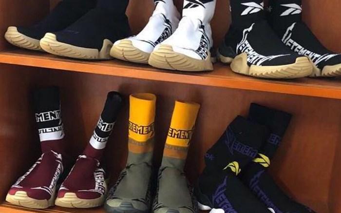 Vetements x Reebok Sock Trainer