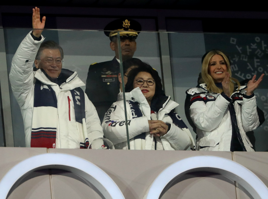 ivanka trump, 2018 winter olympics closing ceremony