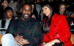 Idris Elba and Sabrina Dhowre, burberry