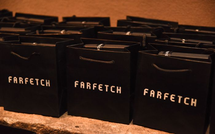 Farfetch shopping bags