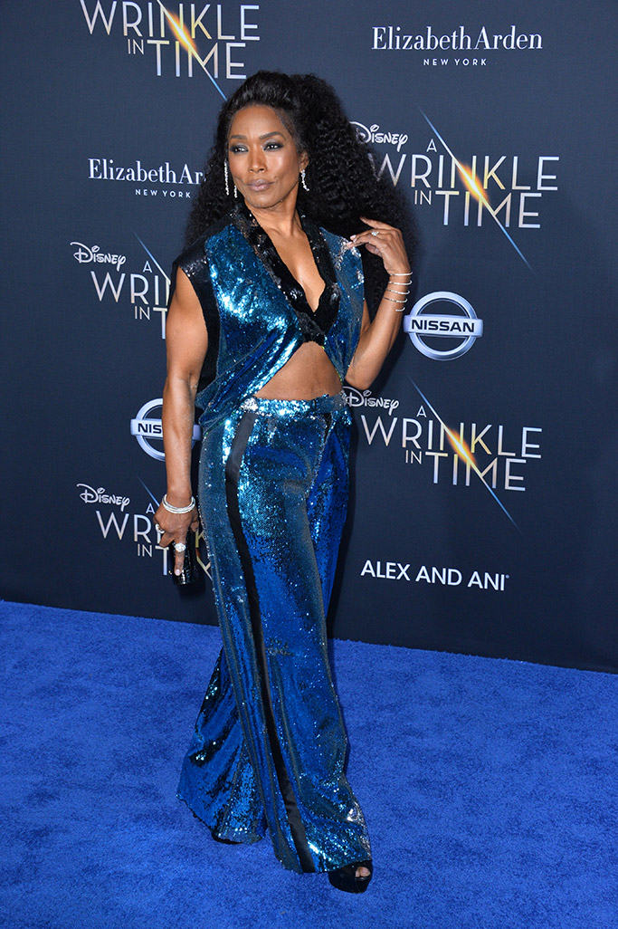 angela bassett, a wrinkle in time los angeles movie premiere, red carpet 2018