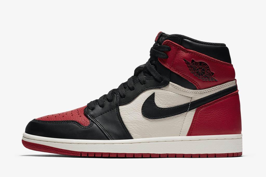 Air Jordan 1 High OG Bred Toe