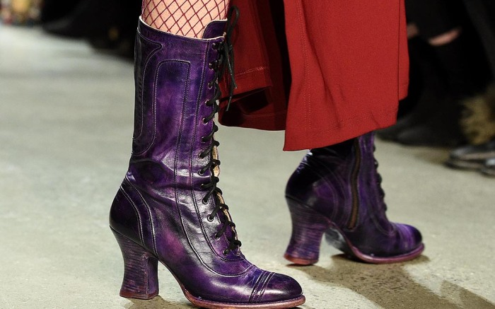 anna sui bed stu shoes nyfw fall 2018