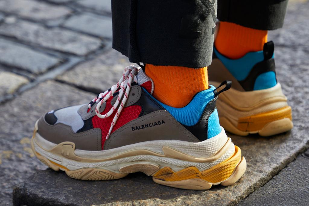 First Balenciaga Triple S Sneaker