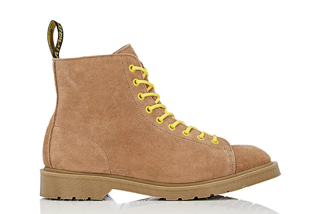 Off-White x Dr. Martens Suede Boots