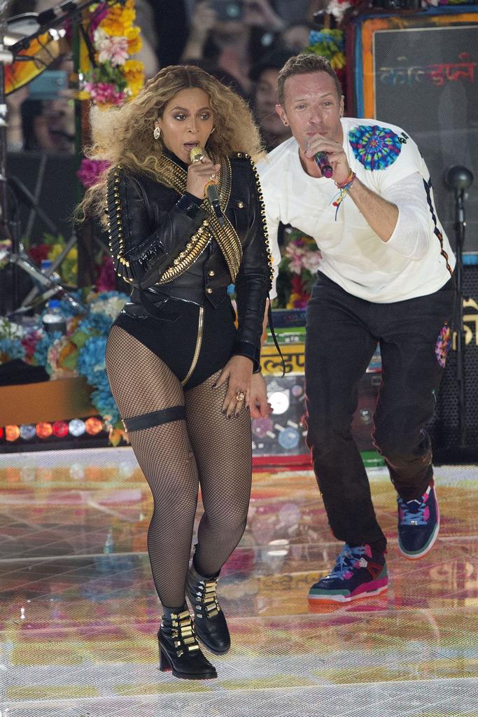Beyoncé, Michael Jackson, Black Panthers, Super Bowl 50