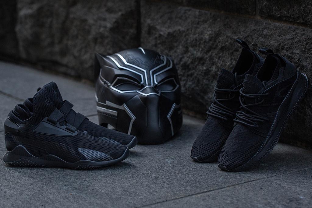Black Panther Bait Marvel Puma Mostro Mid Tsugi Blaze of Glory