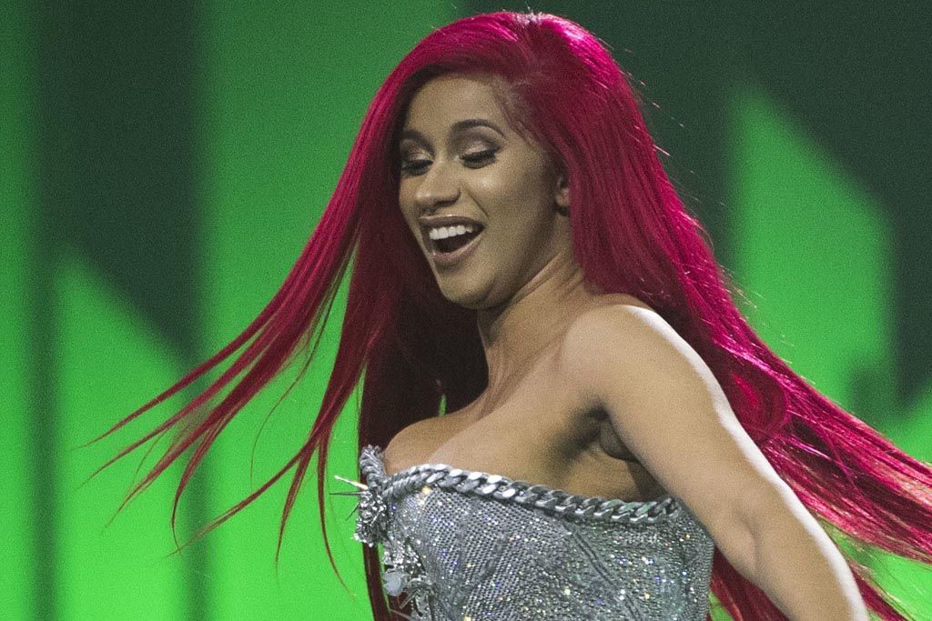 What is the Cardi B leaked photo and what has she said