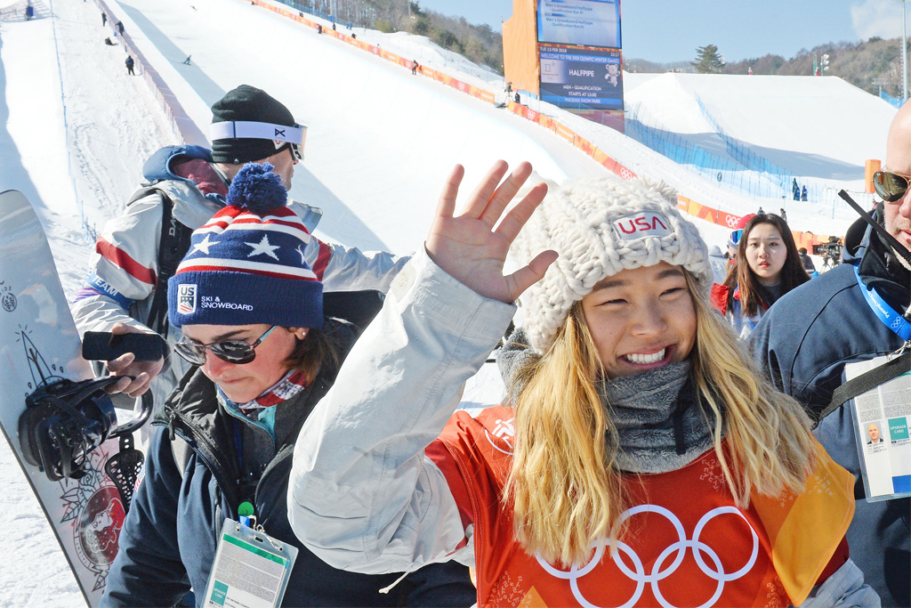 Chloe Kim Olympic Games