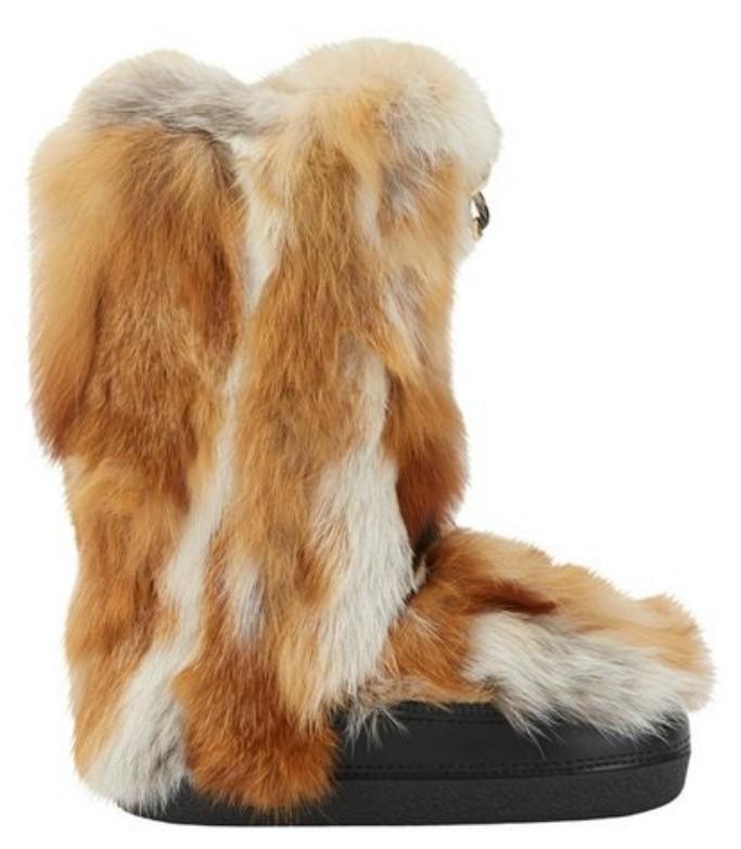 chloe fur moon boots
