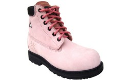 Composite Toe Boots work safety pink