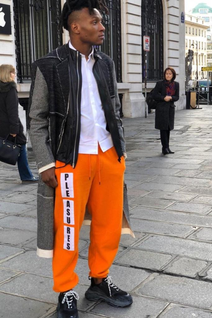 Paris Fashion Week, Deandre Hopkins
