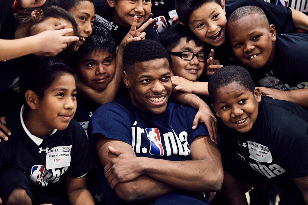 Under Armour Dennis Smith Jr. 2018 Jr. NBA Day Los Angeles