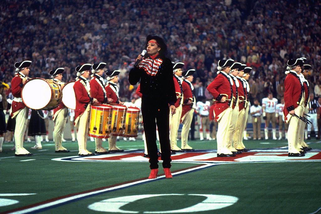 Diana Ross Super Bowl National Anthem
