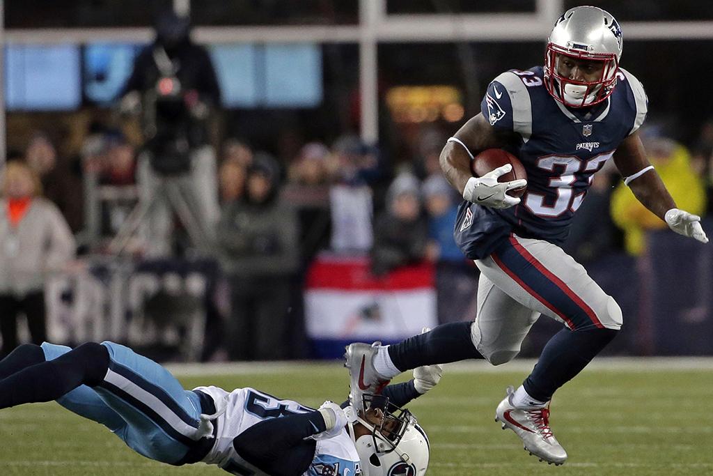 Dion Lewis New England Patriots Nike Vapor Untouchable Pro