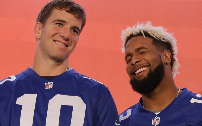 New York Giants Eli Manning Odell Beckham Jr
