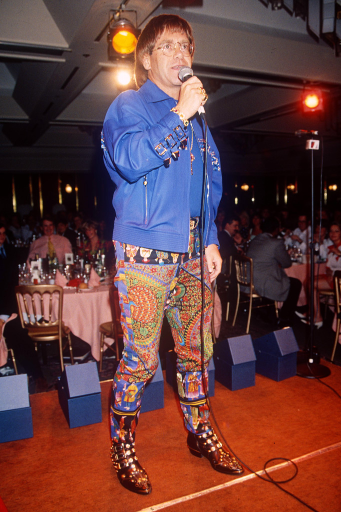 Elton John , celebrity style